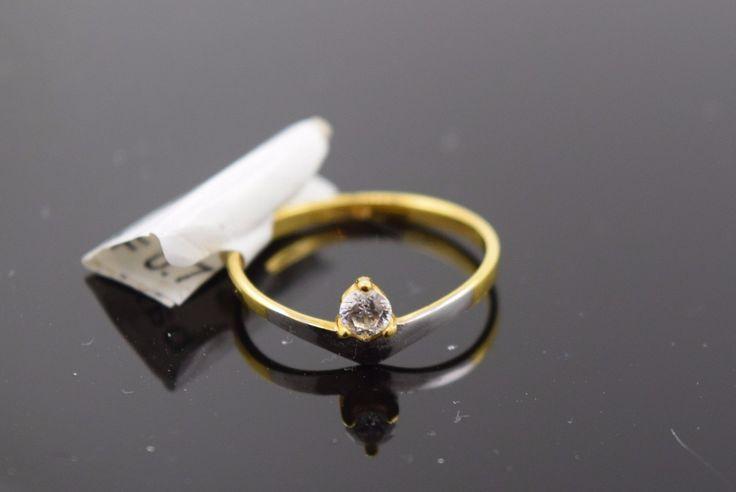 "22k 22ct Solid Gold ELEGANT BABY KIDS Ring ""RESIZABLE"" size 1.5 399"