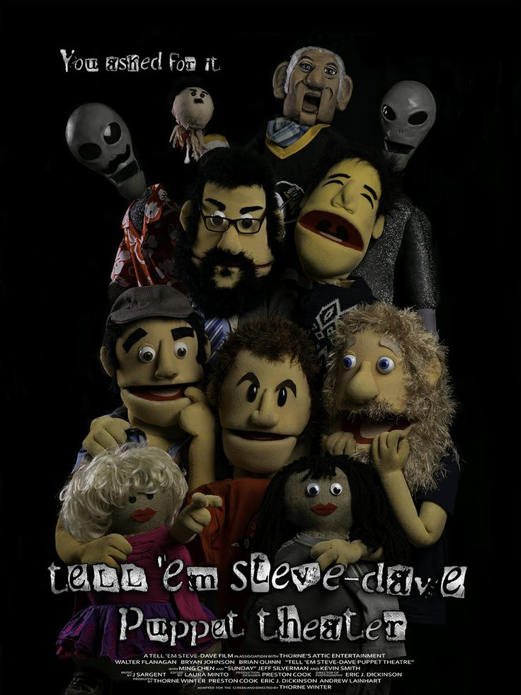 We made the 'Sunday Jeff' Puppet for the TESD Puppet Theater DVD