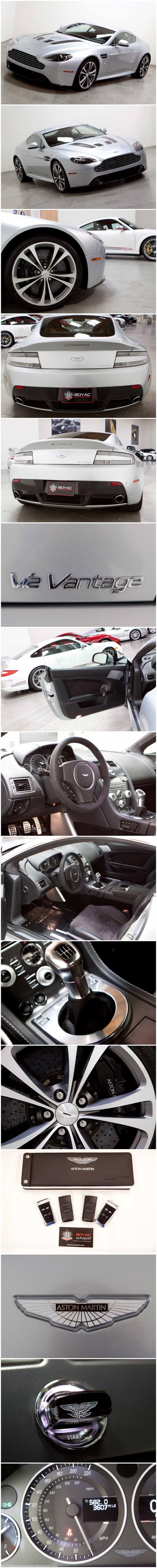 Aston Martin Vantage V12 This car, is my second dream car, the first is the Vanquish... Ahhh