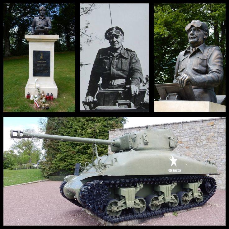 Generaal Stanislaw Maczek. www.memorial-montormel.org