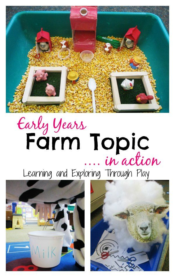 Learning and Exploring Through Play: Farm Topic for Early Years
