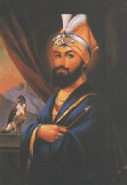 Sri Guru Gobind Singh Ji (1666-1708)  Sri Guru Gobind Singh Ji (1666-1708)  Guru Tegh Bahadur's son, Guru Gobind Singh created a community of people called Khalsa. he first baptized the five sikhs who offered to give their lives for their guru and faith. then he asked them in return to initiate him. Thus Gobind Rai became SRI GURU GOBIND SINGH JI .  Sri Guru Gobind Singh Ji was the only son of Sri Guru TegBahadur Ji. He became Guru at the age of 9. He was married and had four sons .His…