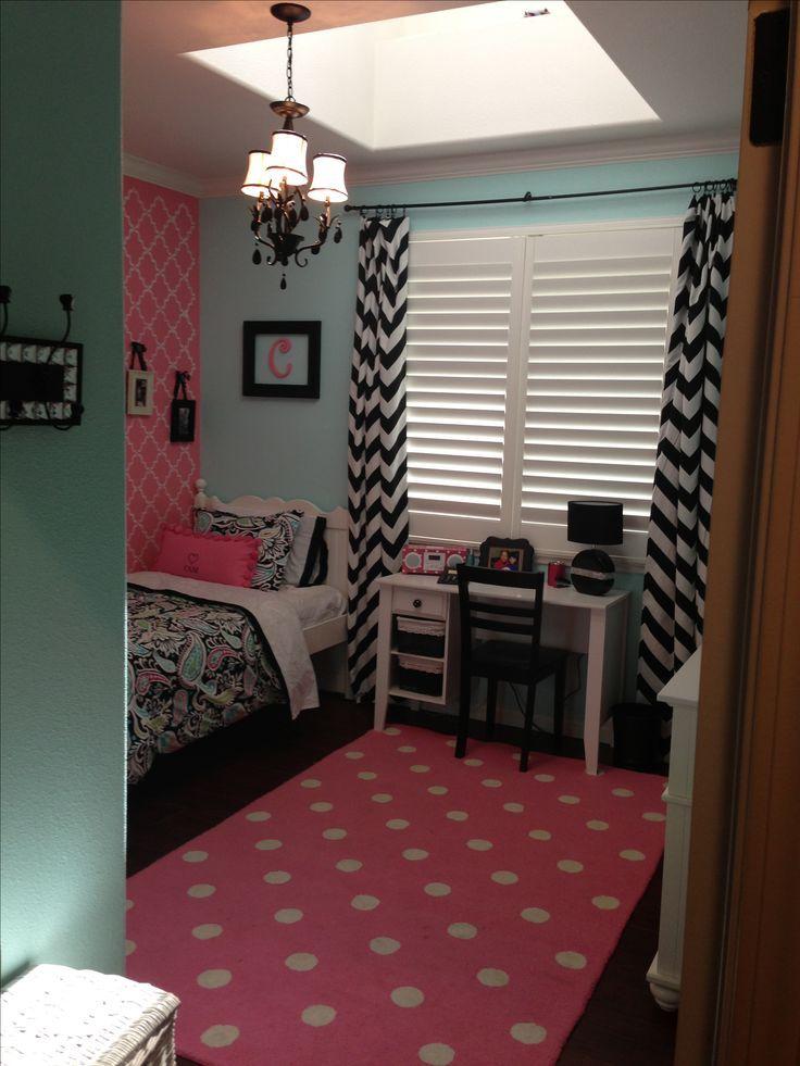 25 Best Chevron Girls Bedrooms Ideas On Pinterest Wall