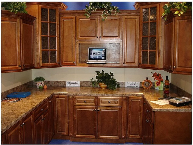 Iks spice maple by below wholesale cabinets via flickr for Cheap maple kitchen cabinets
