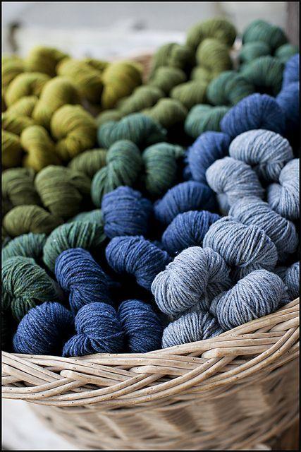 BrooklynTweed's Shetland yarn...gorgeous!