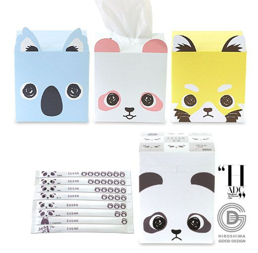 Tissue Holders: your daily #packaging smile : ) PD