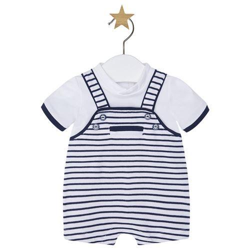 Mayoral Erkek Bebek Yazlık Kısa Tulum Koyu Mavi