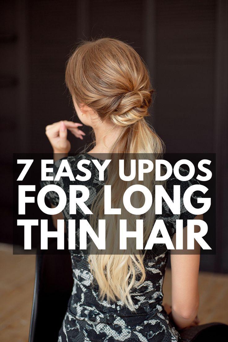 Fast & Elegant: 23 Step-by-Step Updos for Skinny Hair