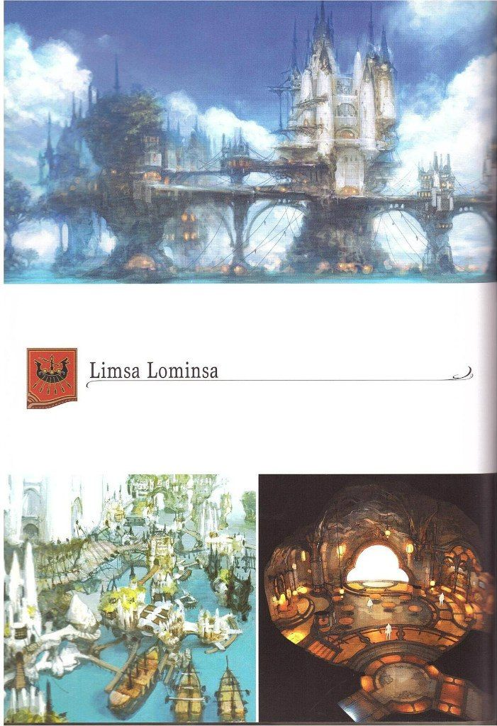 Final Fantasy XIV A Realm Reborn Visual Artbook – 80 фотографий