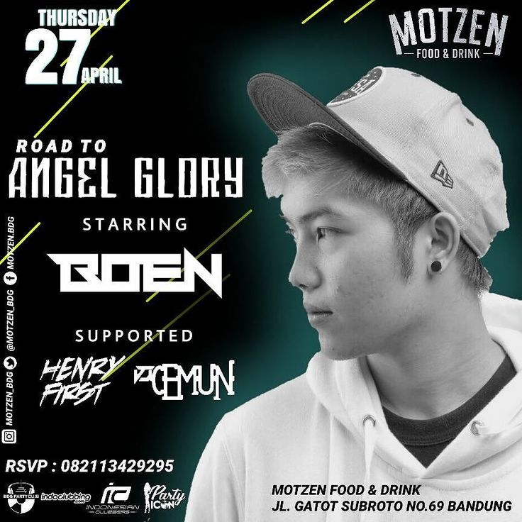 ROAD TO ANGEL GLORY this night!  Starring - BOEN  our supported -HENRY FIRST - CEMUN  Motzen food & drink Jl. Gatot Subroto No. 69 Bandung . #motzenbdg #party #clubbing #bdgpartyclub #dj #diskjokey #femal #fdj #free #beer #indonesianclubbers #indoclubbing #bandung #bandungjuara #bdgevents #explorebandung #party #pioneer #party #event #house #trap #twerk #breaks #bdgtonight #pioneer #bar #club #cdj #cdj900 #mixingslime #song #jungle