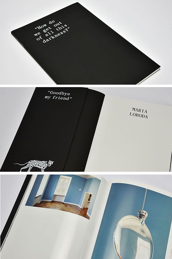 """#The Tube #Favini #book """"How do we get out of all this darkness?"""" /  Design: Mousse & Publishing @moussemagazine www.moussepublishing.com www.moussemagazine.it - Find more about #The Tube http://www.favini.com/gs/en/fine-papers/the-tube/features-applications/"""