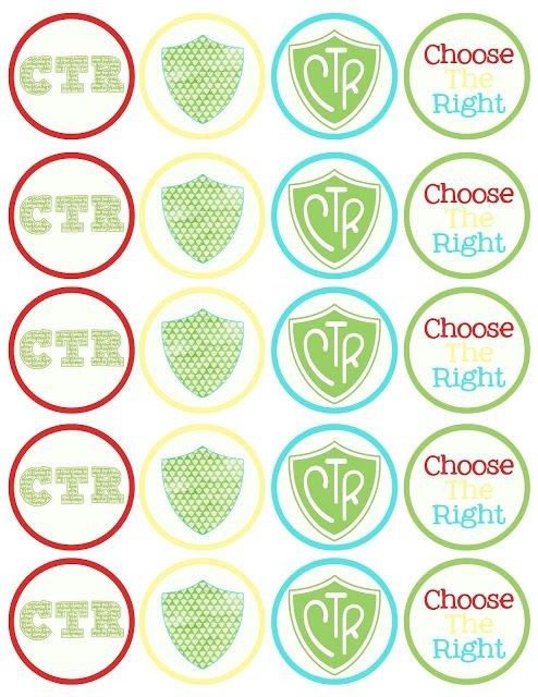 "free ctr printable cupcake toppers. Perfect for baptisms or ""it's great to be 8"""