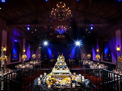Padua Hills Theater in Claremont - $50+/person, 270 max, no packages, $7000 venue fee, fee for guard, linens, minimum $10000 (includes tables, chair, menu, wedding cake, bartenders, security), one wedding/day, chantrellescatering.com