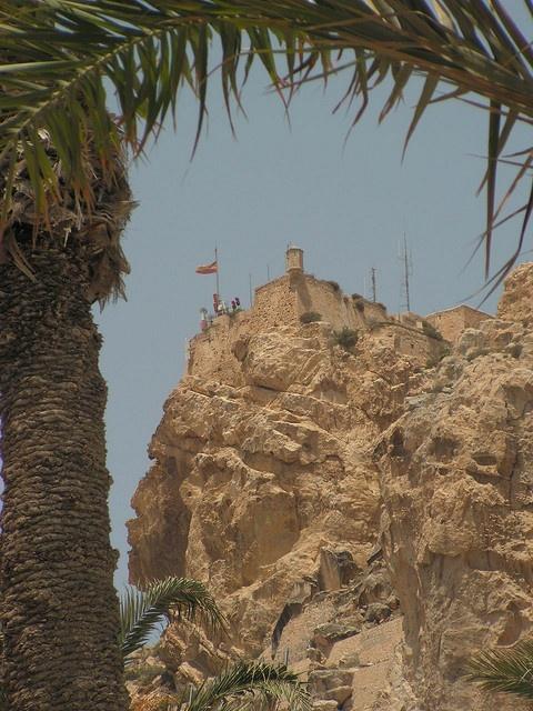 Castillo Santa Barbara, Spain