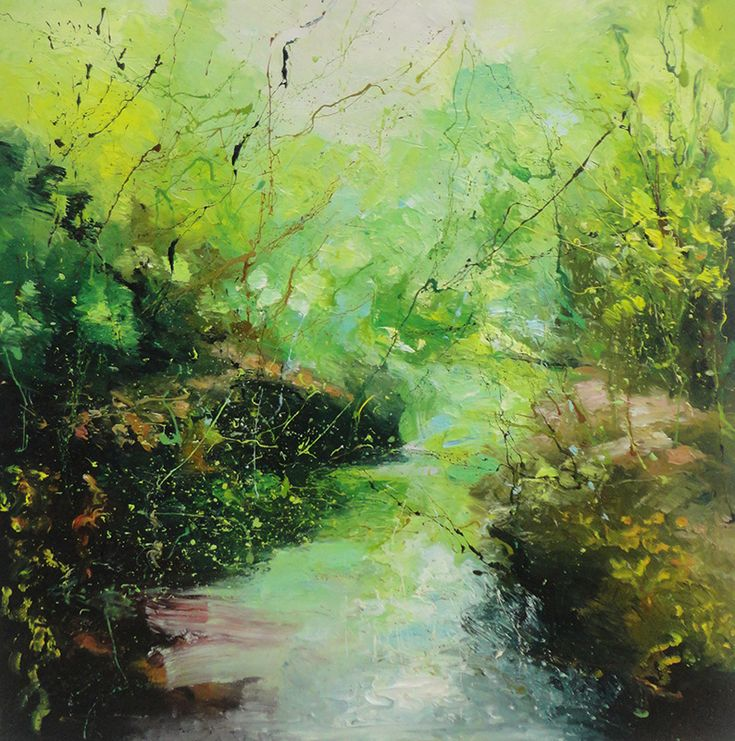Junction Art Gallery - Claire Wiltsher 'Down in the Woods 3' www.junctionartgallery.co.uk