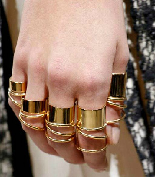 9 Pieces Knuckle Ring Set