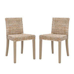 Wicker Rattan Dining Chairs On Hayneedle