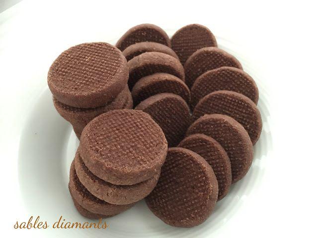 I Dolci di Pinella: Sablés diamants au chocolat