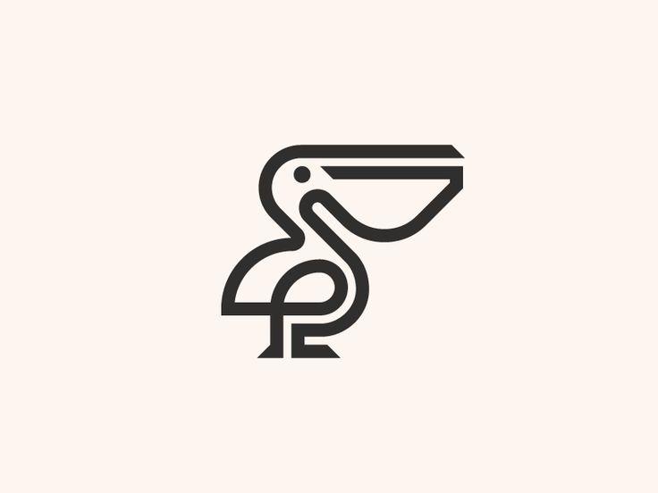 Pelican by Skirmantas Raila #Design Popular #Dribbble #shots