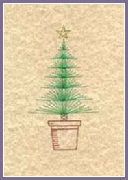 Xmas Tree and Angel Prick 'n Stitch Card Designs