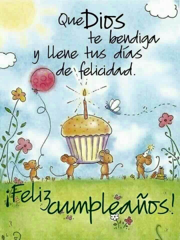 1000+ images about Feliz Cumpleaños on Pinterest Te amo, Birthdays and Salud