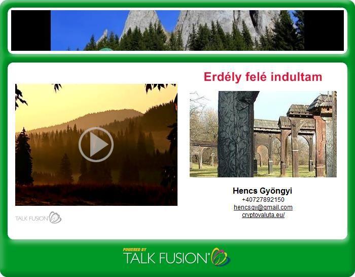 Video Email : ERDÉLY FELÉ . EDDA