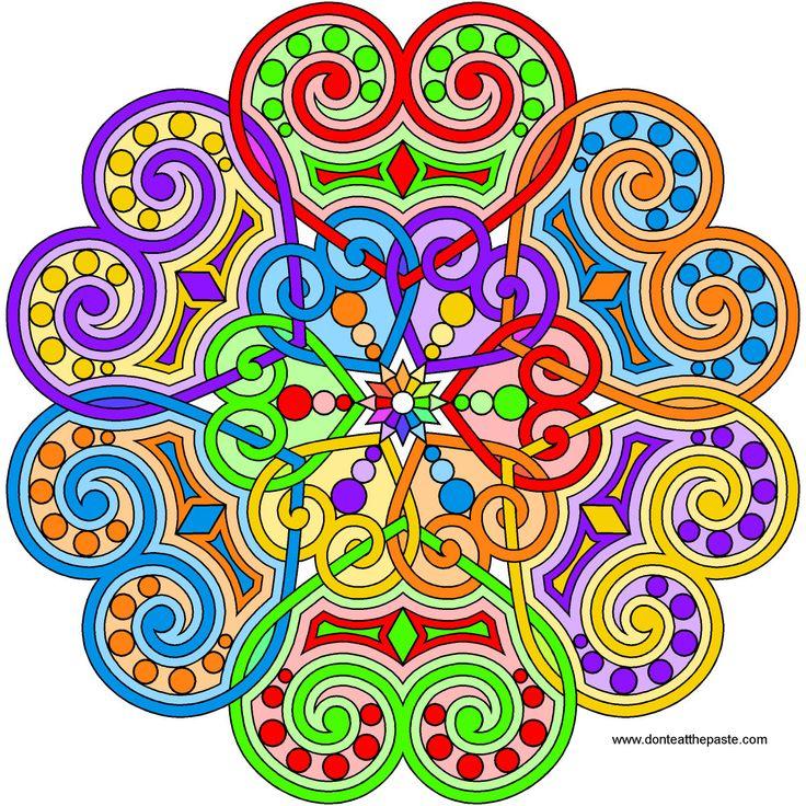 Best 63 Mandala ideas on Pinterest | Mandalas, Fraktale und Heilige ...