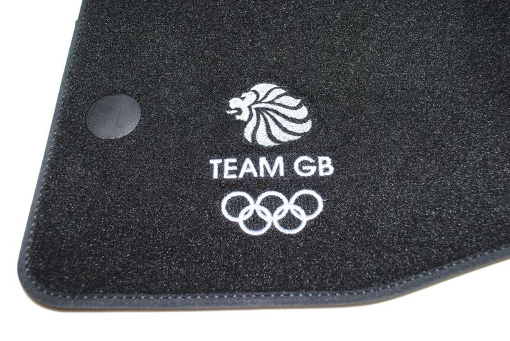 Nissan Qashqai Team GB Olympic Floor Velour Mats New Genuine Limited 9999823421