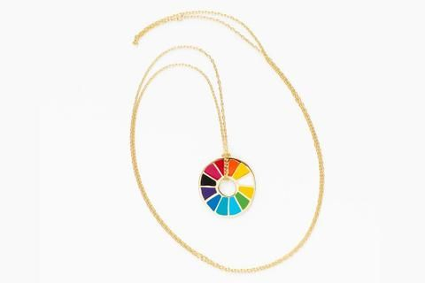 Color Wheel Grayscale Earrings Color Wheels Mission District