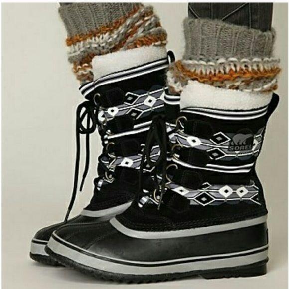Sorrel Boot size 8 runs like 8.5. Sorrel boot in nice condition! Runs big. SOREL Shoes Winter & Rain Boots