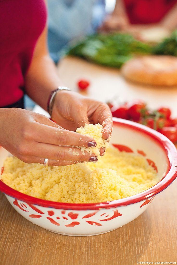 Mode d'emploi de la cuisson de la semoule, pour obtenir des grains goûteux et pas une masse collante !