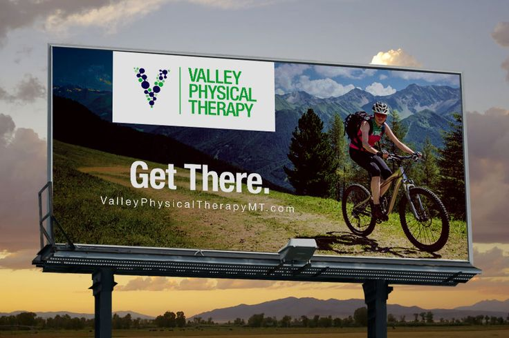 Valley Physical Therapy Outdoor Billboard