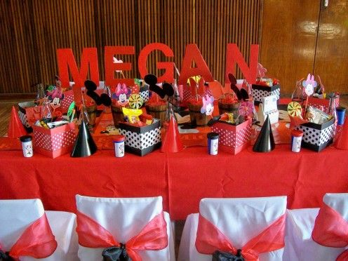 red and black party ideas | Source: Treasures and Tiaras Kids Parties