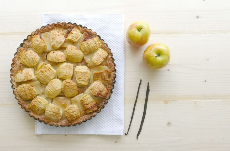 Franse appeltaart met spijs.