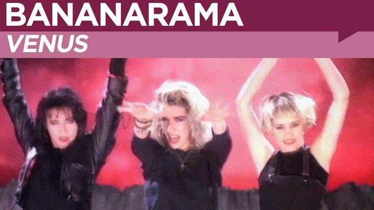 "BANANARAMA / VENUS (1986) -- Check out the ""I ♥♥♥ the 80s!! (part 2)"" YouTube Playlist --> http://www.youtube.com/playlist?list=PL4BAE4D6DE43F0951 #80s #1980s"