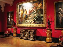 Buckingham Palace- Interior of the Queen's Gallery during an exhibition