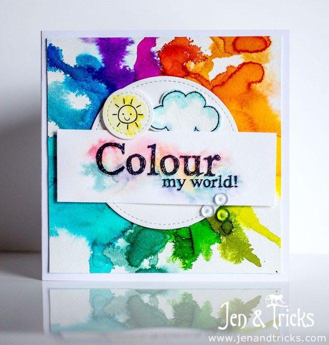 Colour My World - Handmade card by jenandtricks. Visit my blog at http://jenandtricks.com.