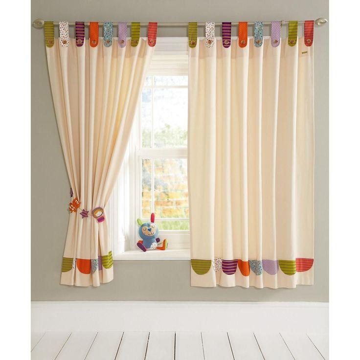 Mamas & Papas Timbuktales - Tab Top Curtains at Winstanleys Pramworld