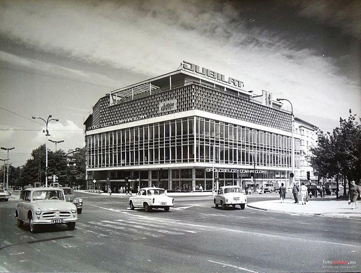 """Dom Handlowy """"Jubilat"""", Kraków - 1970 rok, stare zdjęcia"""