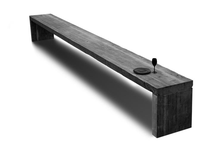 Table Heelgroot VanJoost (6 meters length, very long table, large table solid)