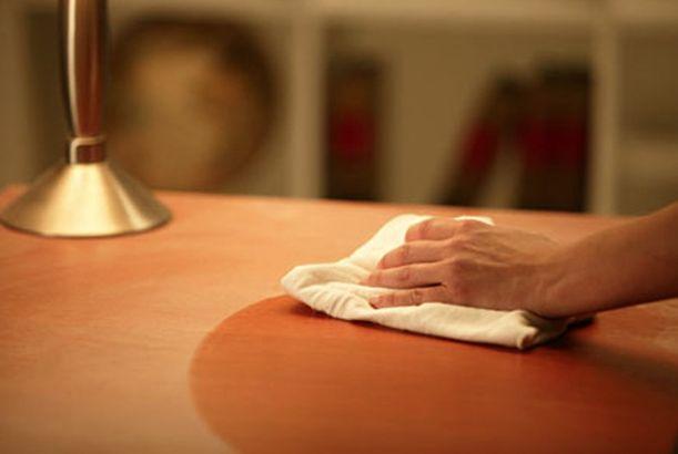 Organic home made furniture polish ~ Σπιτικό γυαλιστικό επίπλων | Smile Greek