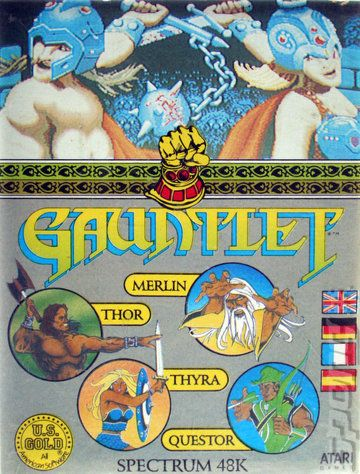 Gauntlet - The very first computer game I played.
