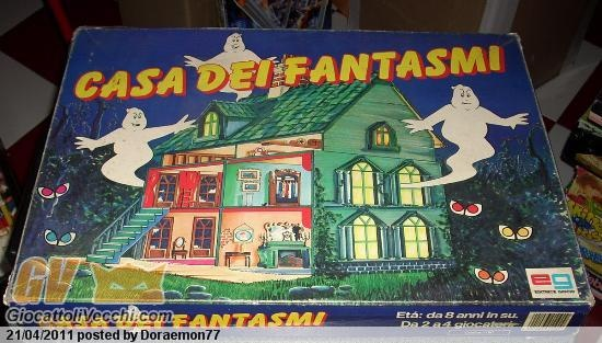Casa dei Fantasmi. House of Ghosts Board Game.