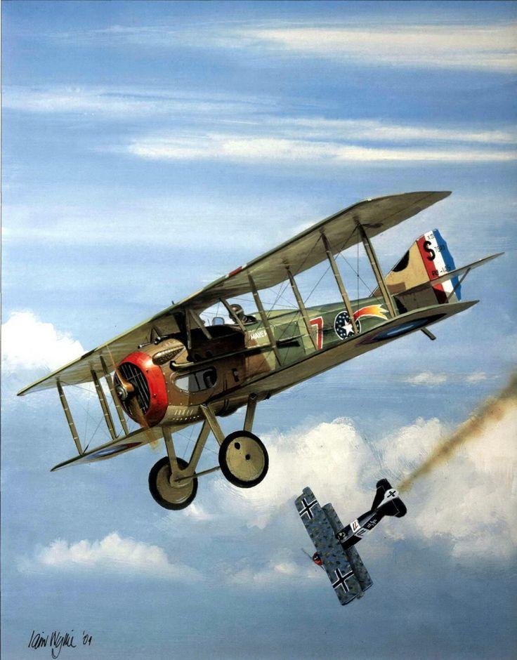 air warfare ww1 vs ww2 essay
