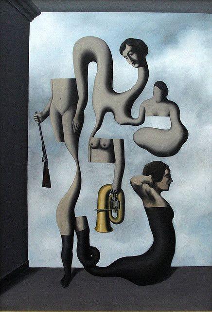 Die Ubungen der Akrobatia by Rene Magritte