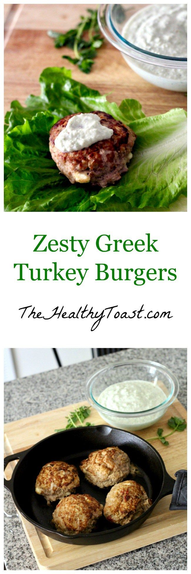 These Greek Turkey Burgers are bursting with flavor as they're studded with sundried tomatoes and feta cheese, then topped with a cool and creamy tzatziki sauce. I promise they'll become one of you…