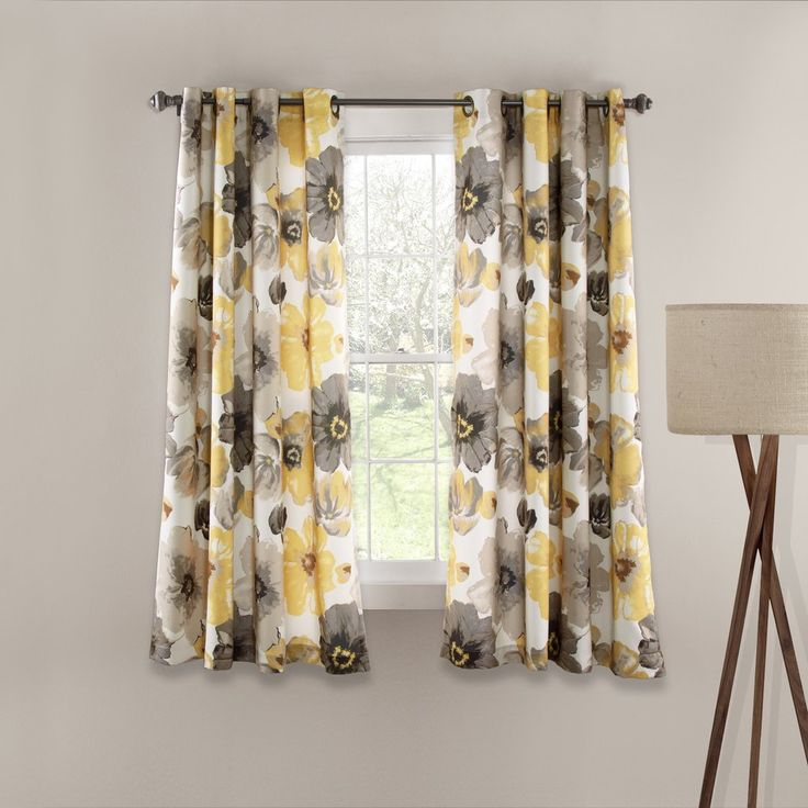 Great Kitchen, Yellow And Gray Kitchen Curtain Country Kitchen Curtains Night  Lamp White Window: Extraordinary