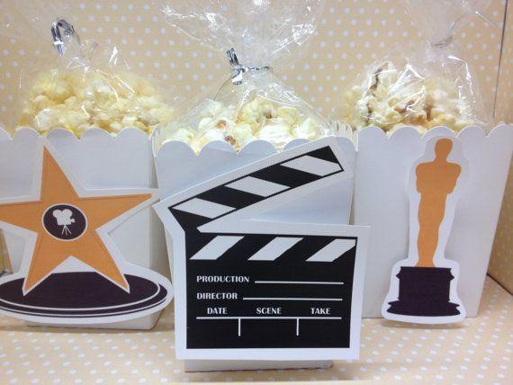 Hollywood cine palomitas de maíz partido o cajas a Favor