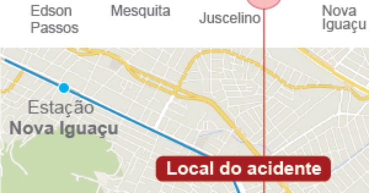 Perícia apura se falha de sinalização causou acidente entre trens no Rio