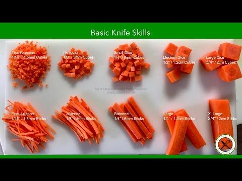 Basic Knife Skills – Bruno Albouze – THE REAL DEAL - YouTube